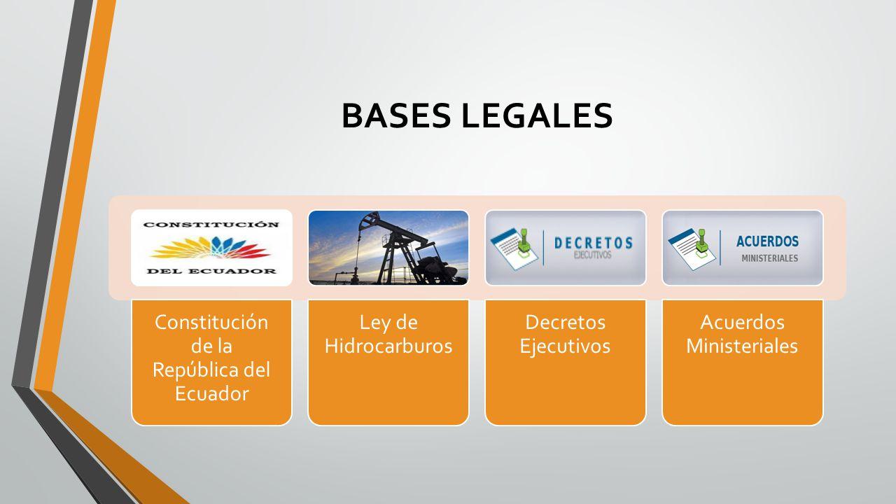 BASES LEGALES Constitución de la República del Ecuador
