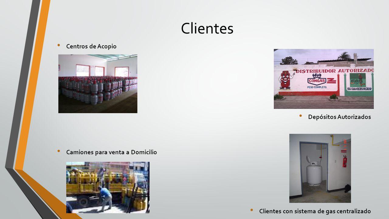 Clientes Centros de Acopio Depósitos Autorizados