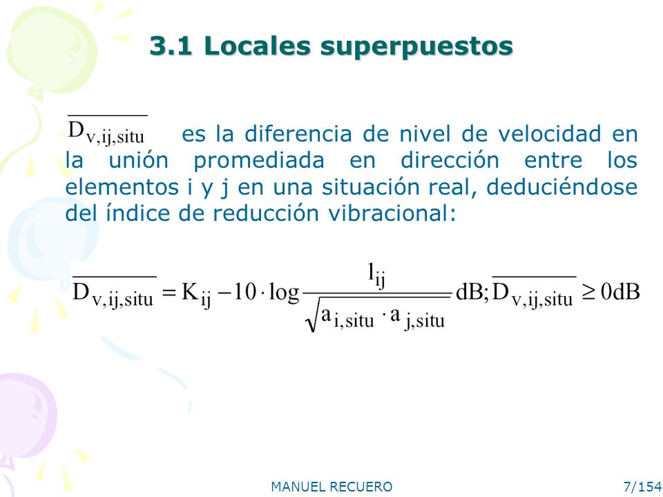 3.1 Locales superpuestos