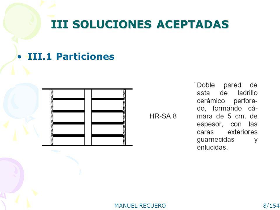 III SOLUCIONES ACEPTADAS
