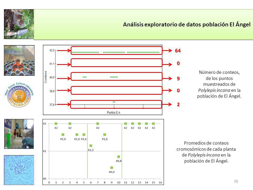 Análisis exploratorio de datos población El Ángel