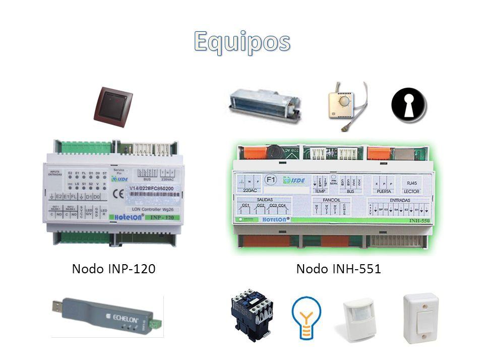 Equipos Nodo INP-120 Nodo INH-551