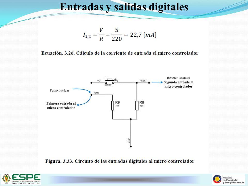 Entradas y salidas digitales