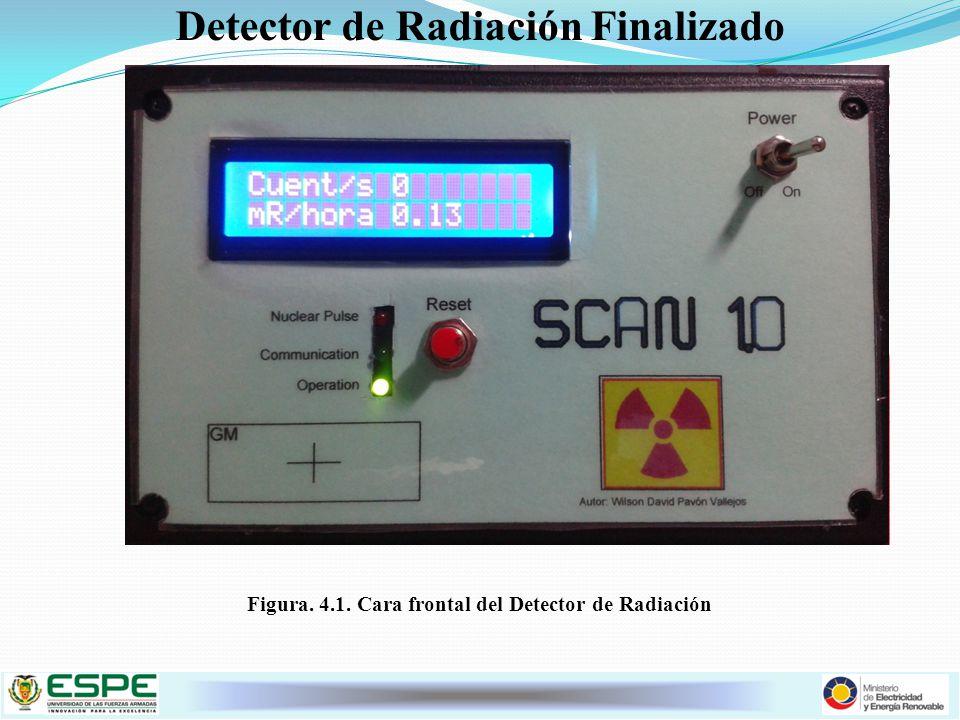 Detector de Radiación Finalizado