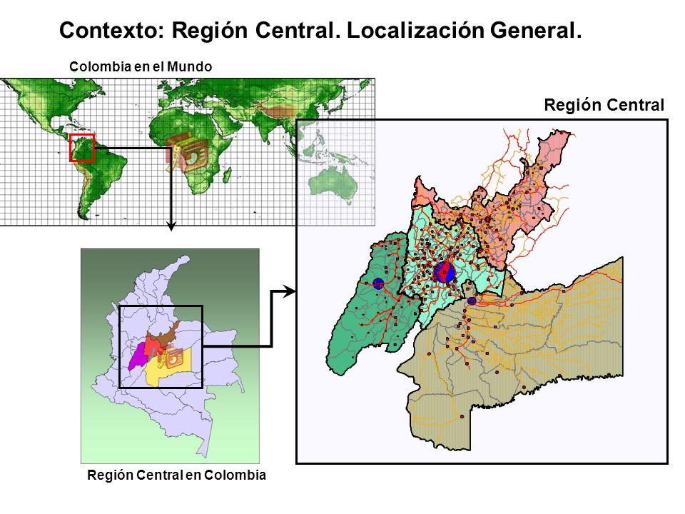 Contexto: Región Central. Localización General.