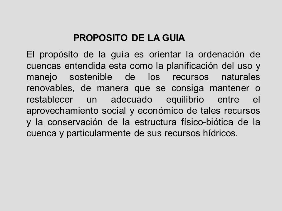 PROPOSITO DE LA GUIA