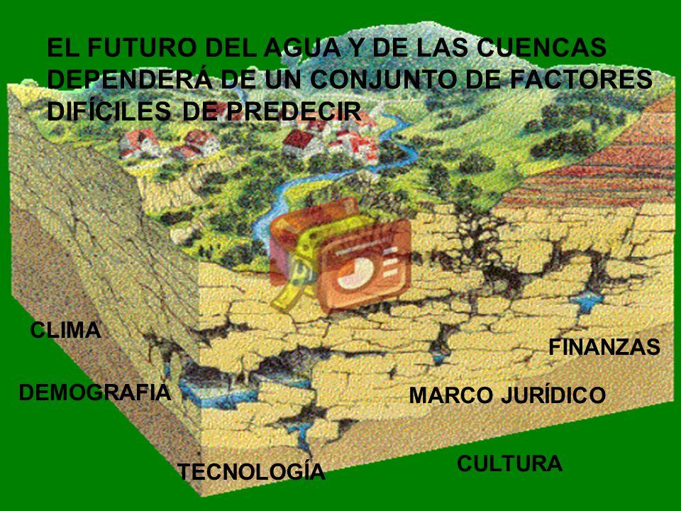 EL FUTURO DEL AGUA Y DE LAS CUENCAS