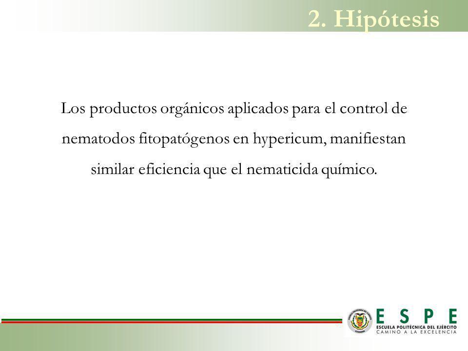 2. Hipótesis