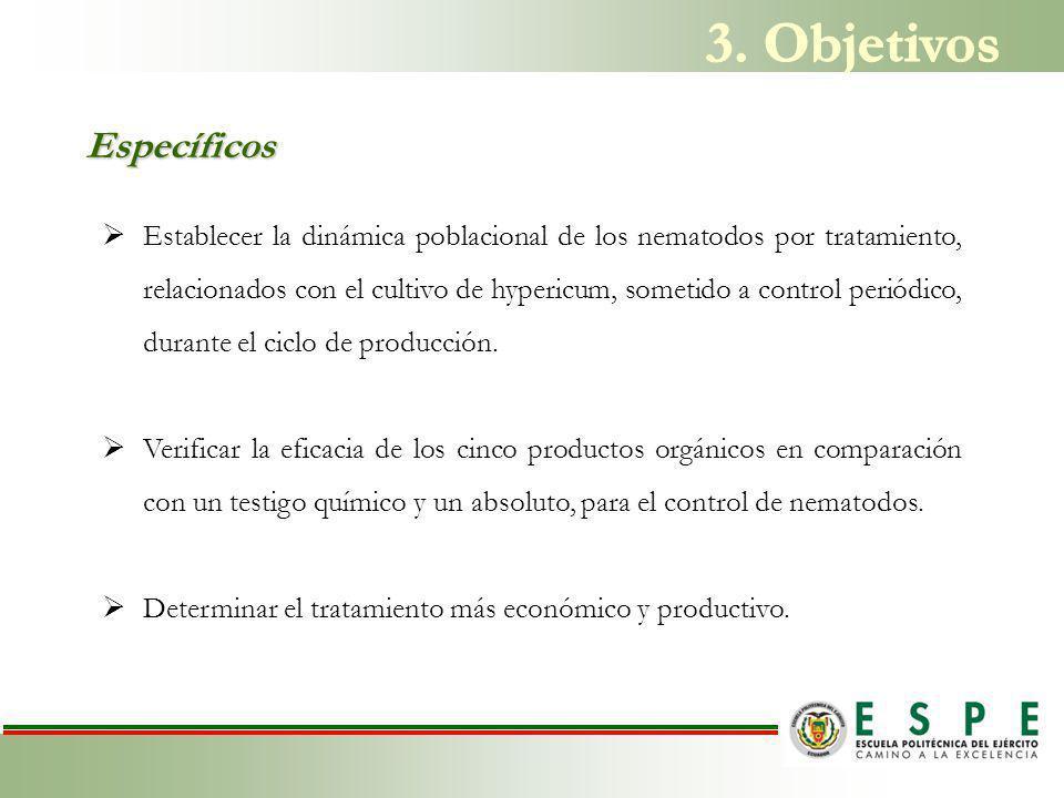 3. Objetivos Específicos