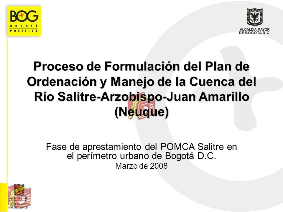 Proceso de Formulación del Plan de Ordenación y Manejo de la Cuenca del Río Salitre-Arzobispo-Juan Amarillo (Neuque)