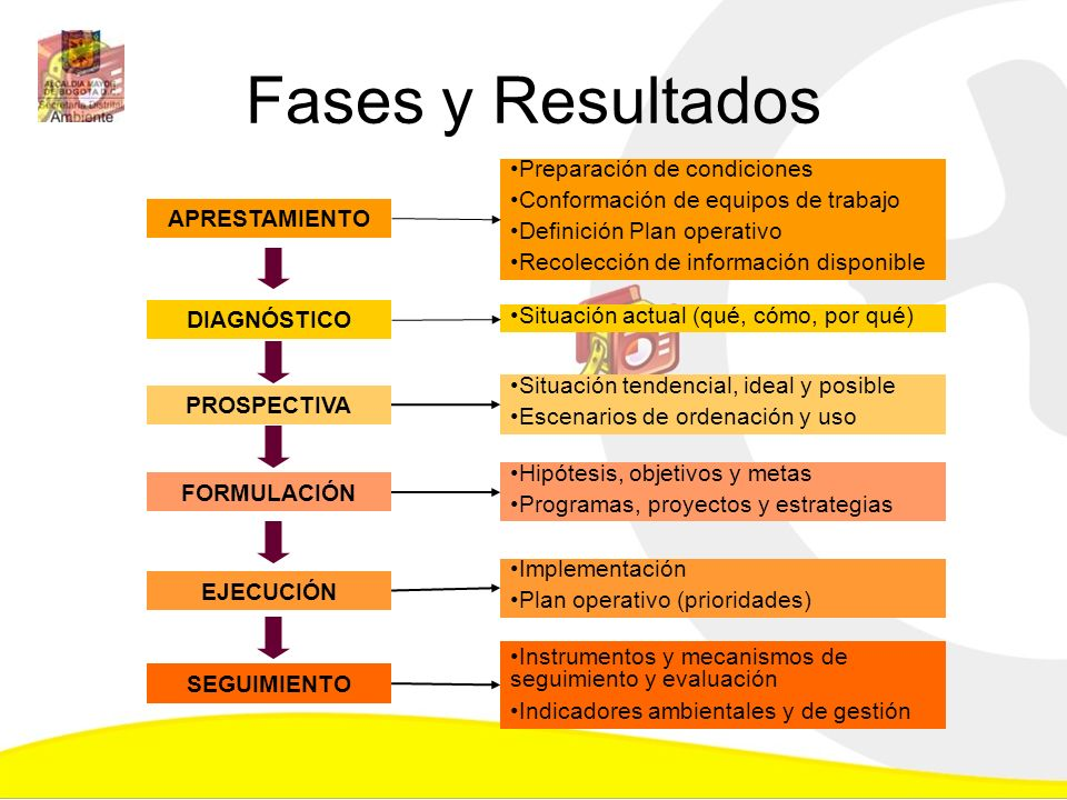 Fases y Resultados Preparación de condiciones