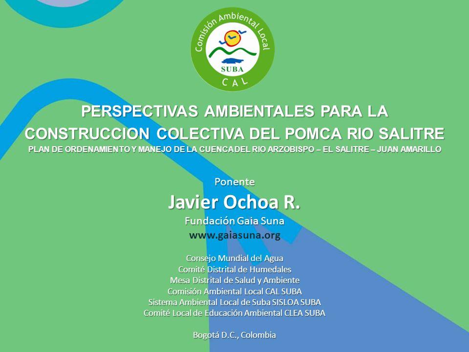 Javier Ochoa R. PERSPECTIVAS AMBIENTALES PARA LA