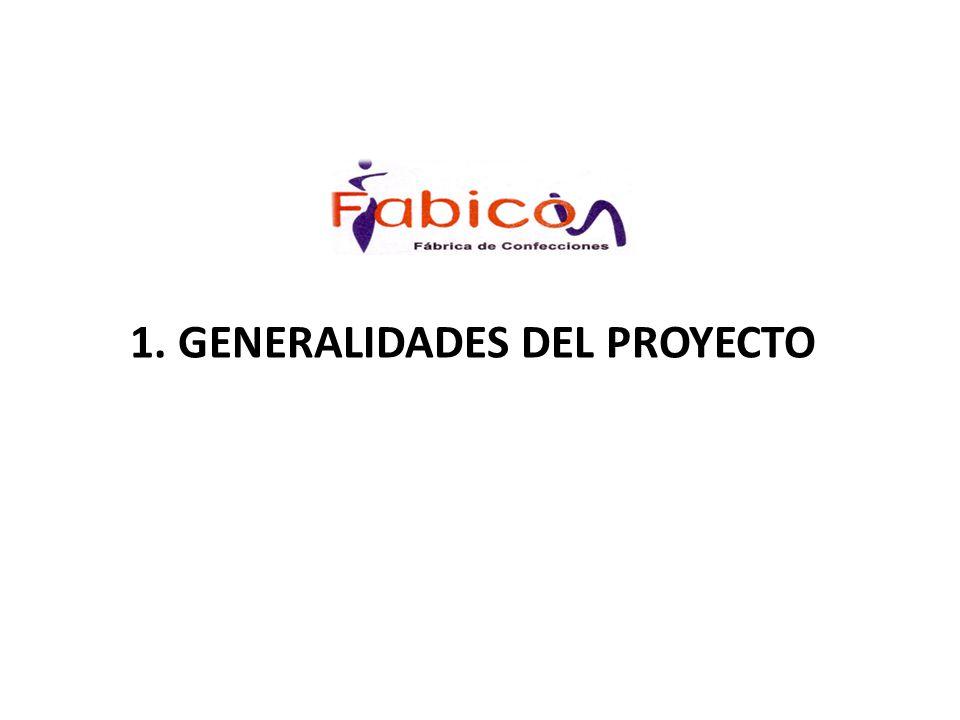 1. GENERALIDADES DEL PROYECTO