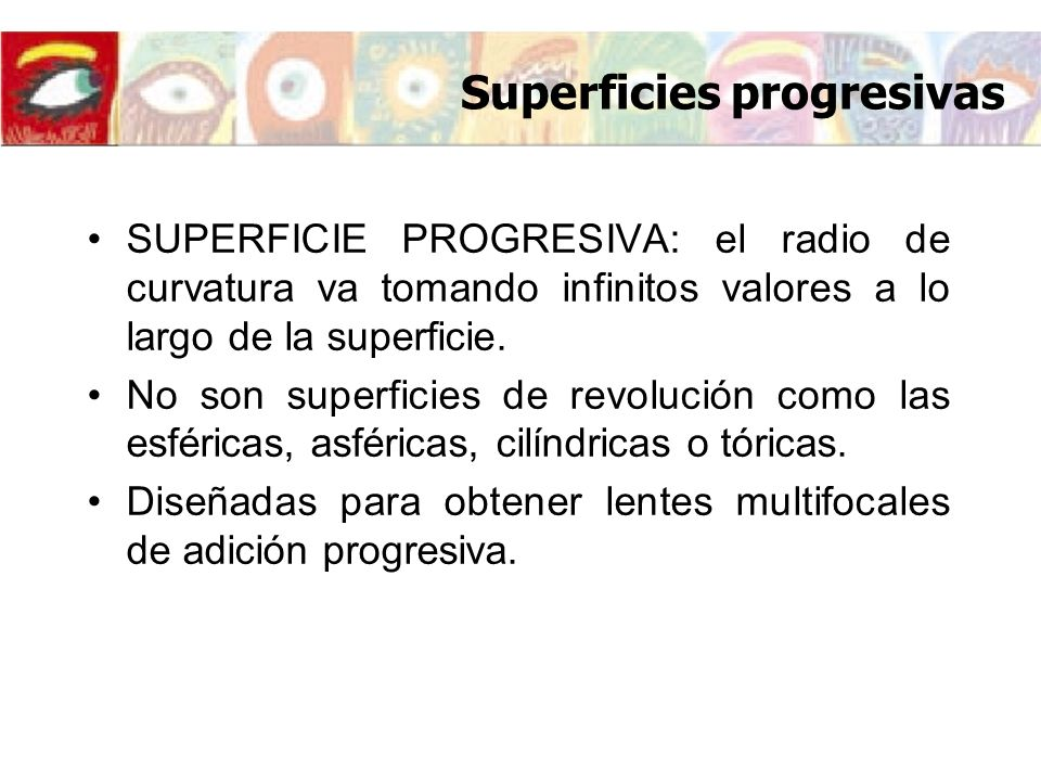 Superficies progresivas