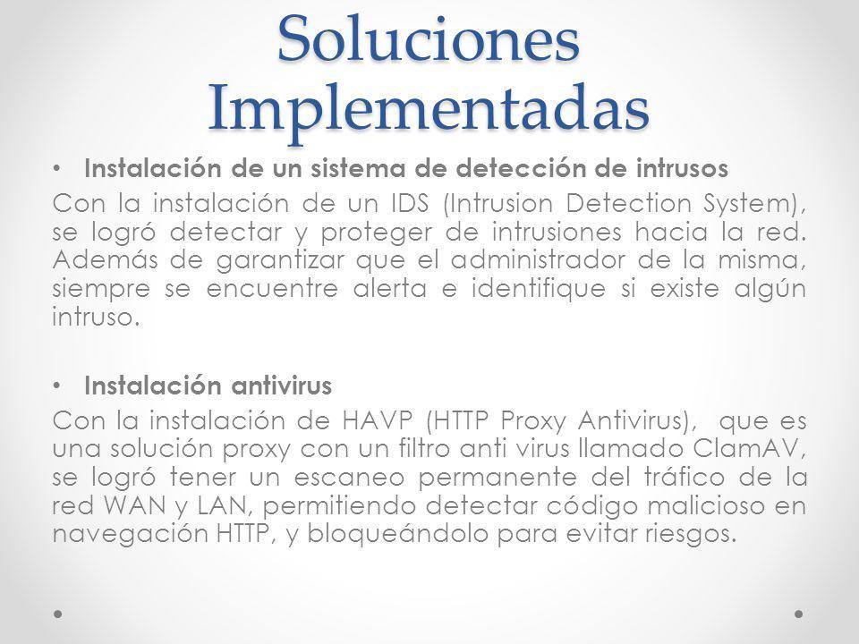 Soluciones Implementadas