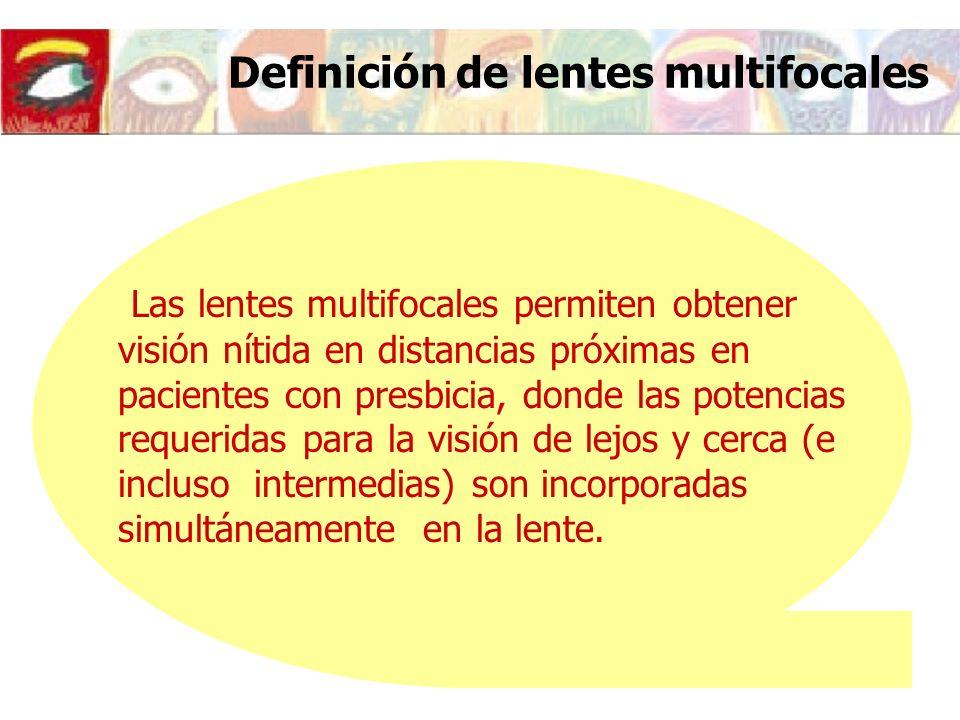 Definición de lentes multifocales