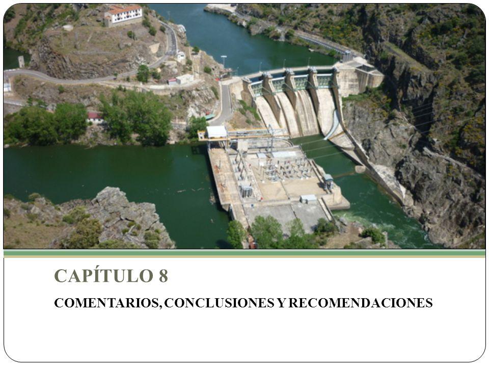 CAPÍTULO 8 COMENTARIOS, CONCLUSIONES Y RECOMENDACIONES