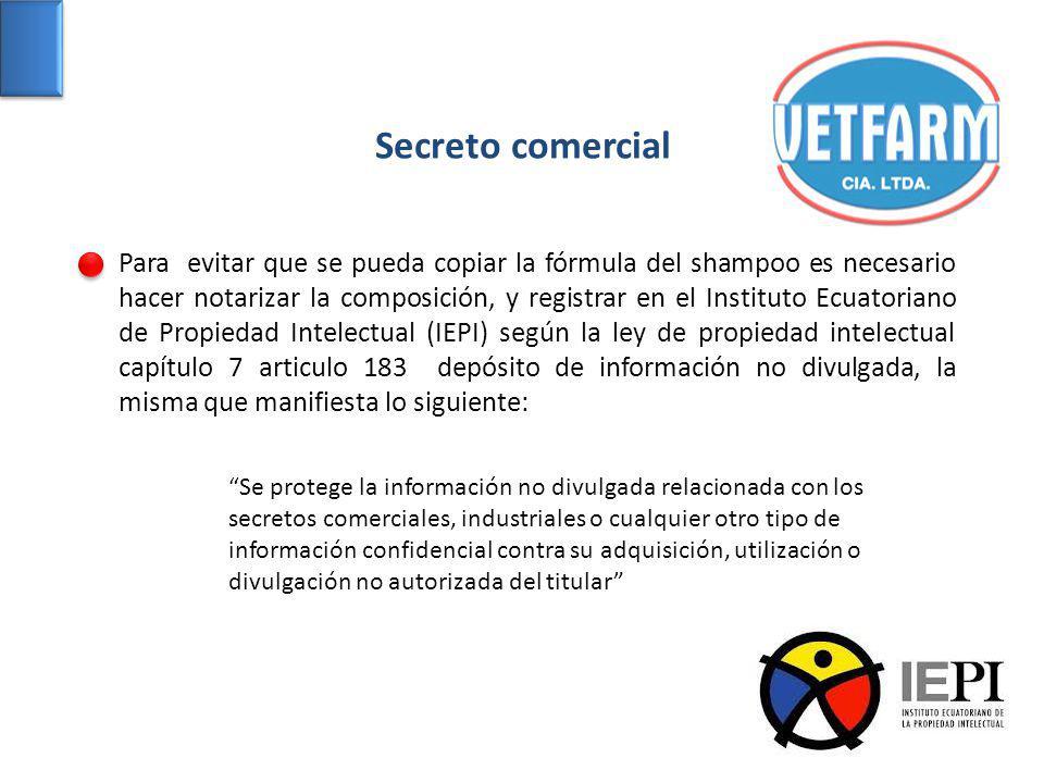 Secreto comercial