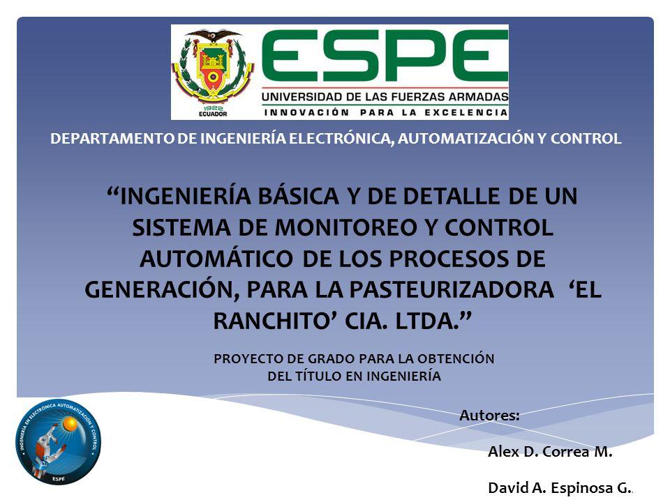 DEPARTAMENTO DE INGENIERÍA ELECTRÓNICA, AUTOMATIZACIÓN Y CONTROL