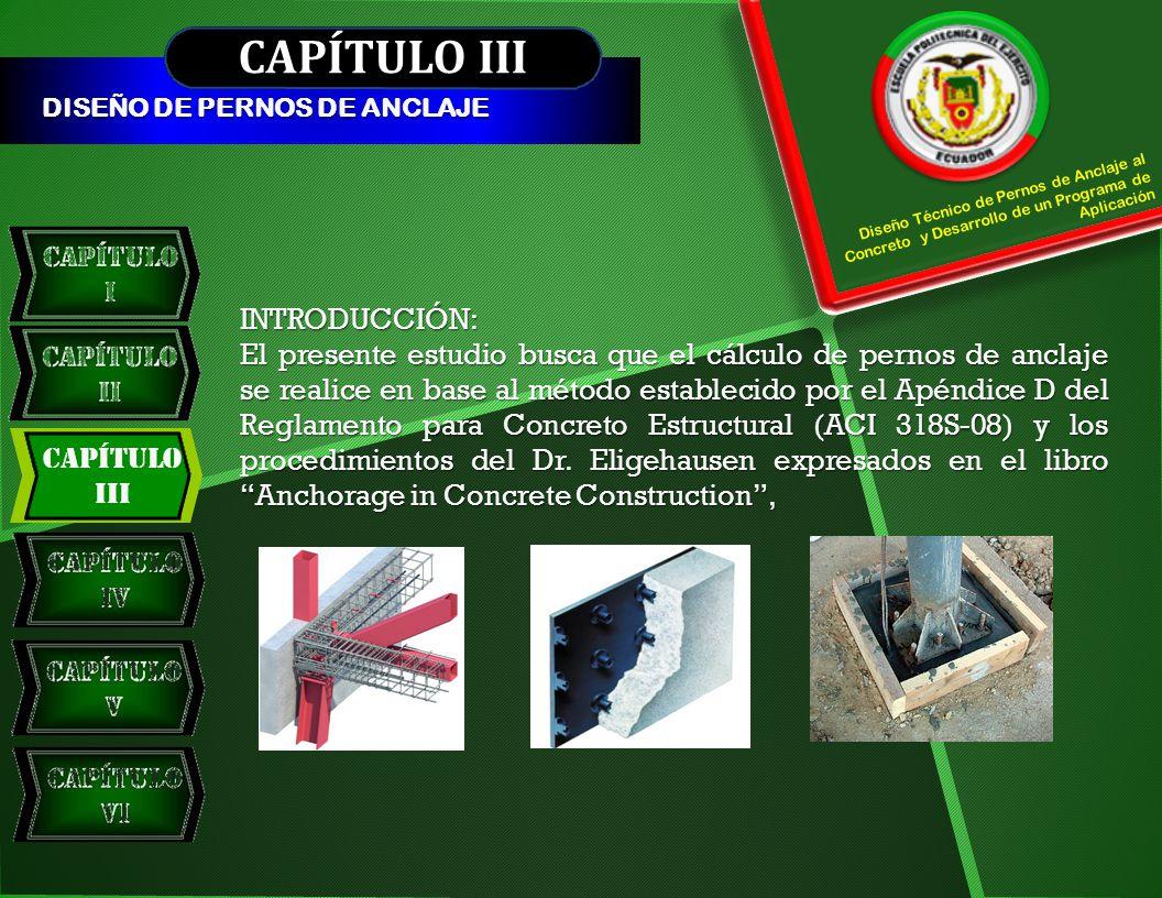 CAPÍTULO III INTRODUCCIÓN: