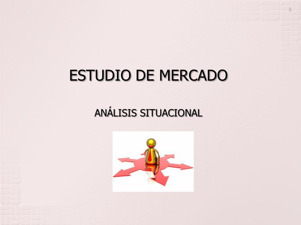 ESTUDIO DE MERCADO ANÁLISIS SITUACIONAL
