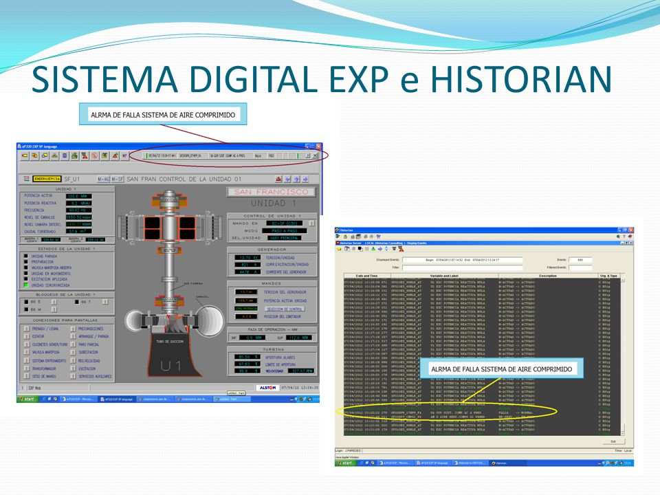 SISTEMA DIGITAL EXP e HISTORIAN