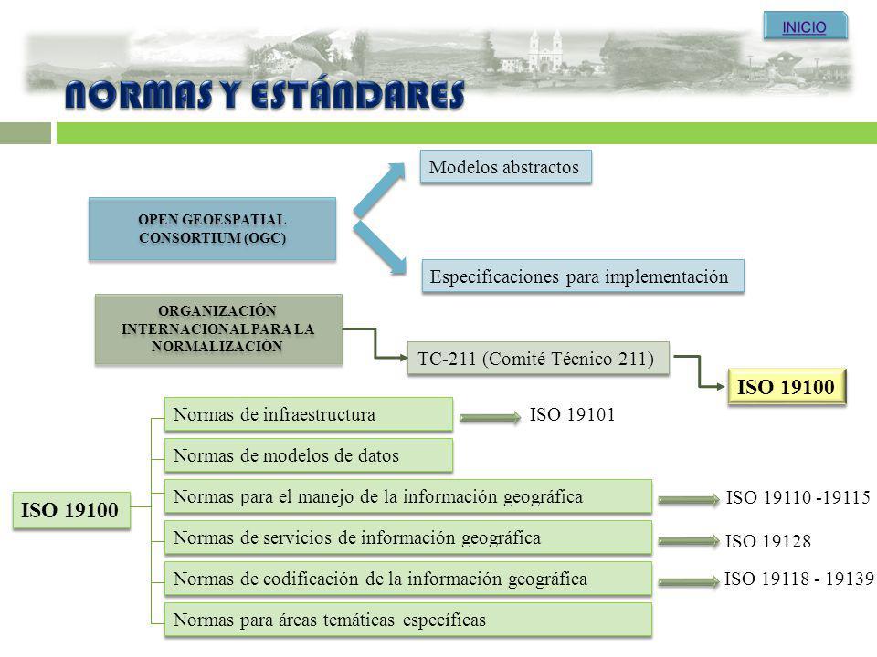 Open Geoespatial Consortium (OGC) Internacional para la Normalización
