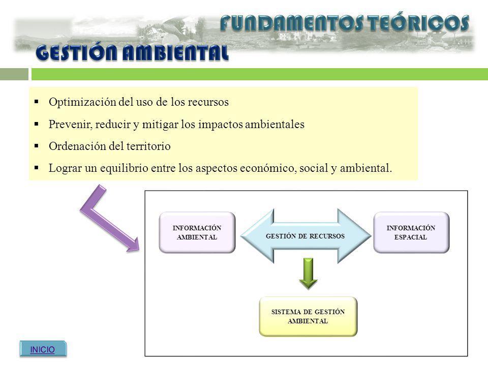 INFORMACIÓN AMBIENTAL SISTEMA DE GESTIÓN AMBIENTAL