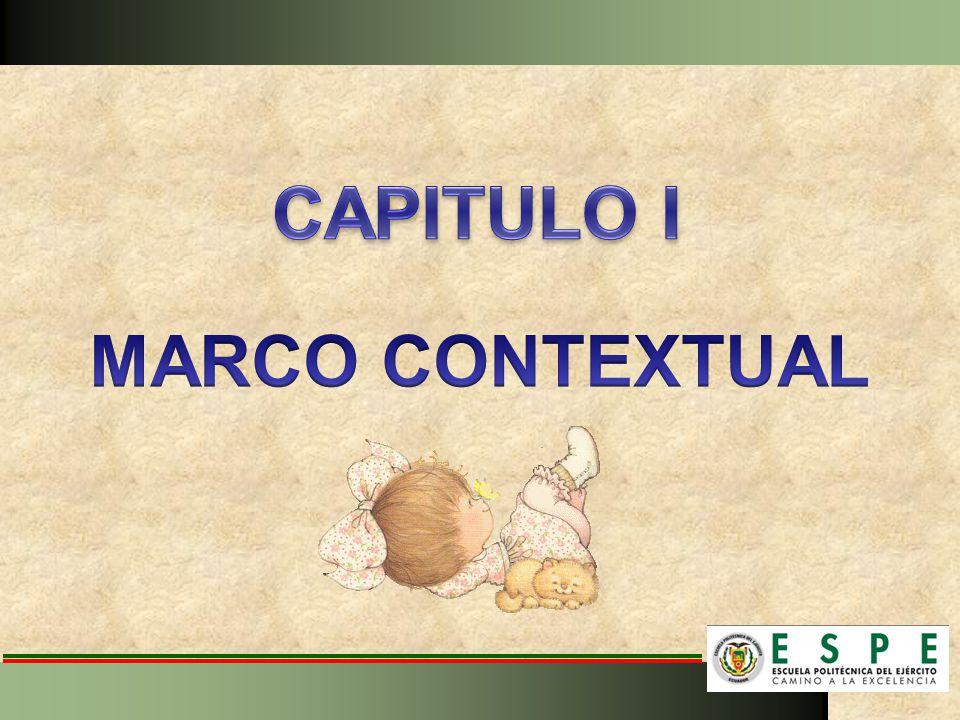CAPITULO I MARCO CONTEXTUAL