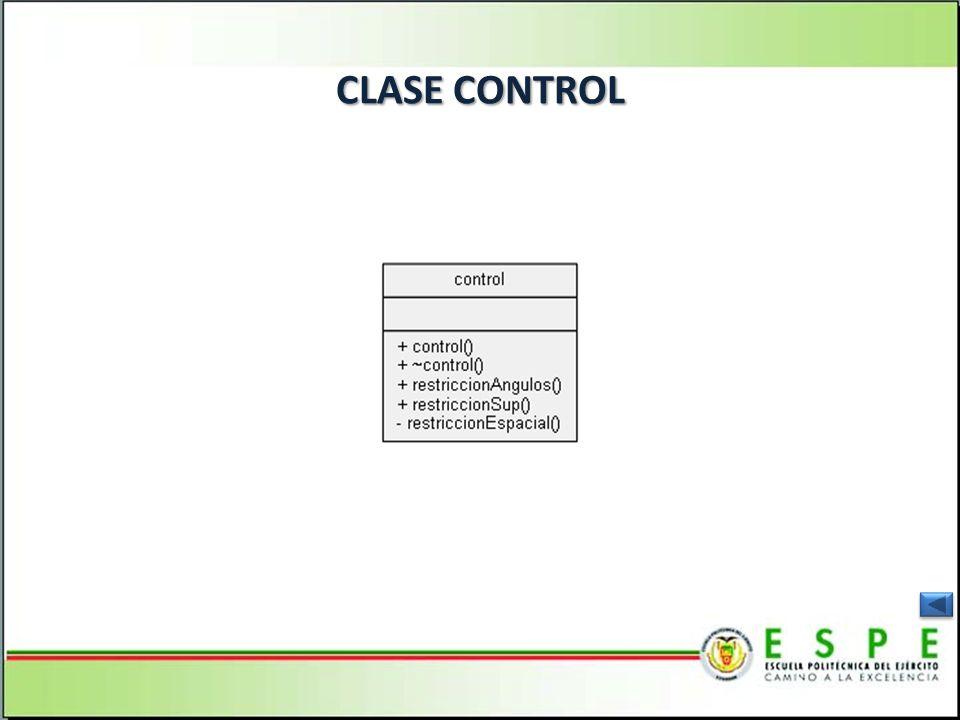 CLASE CONTROL