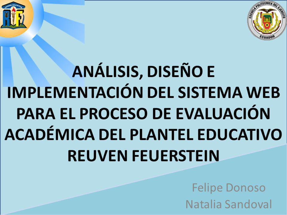 Felipe Donoso Natalia Sandoval