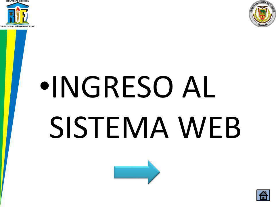 INGRESO AL SISTEMA WEB