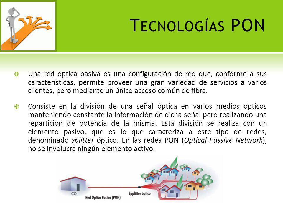 Tecnologías PON