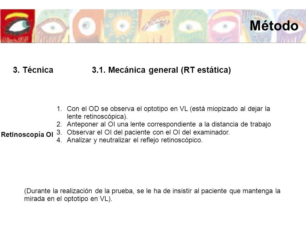 3.1. Mecánica general (RT estática)