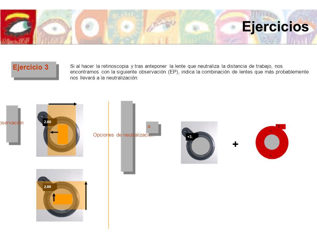 Ejercicios + Ejercicio 3