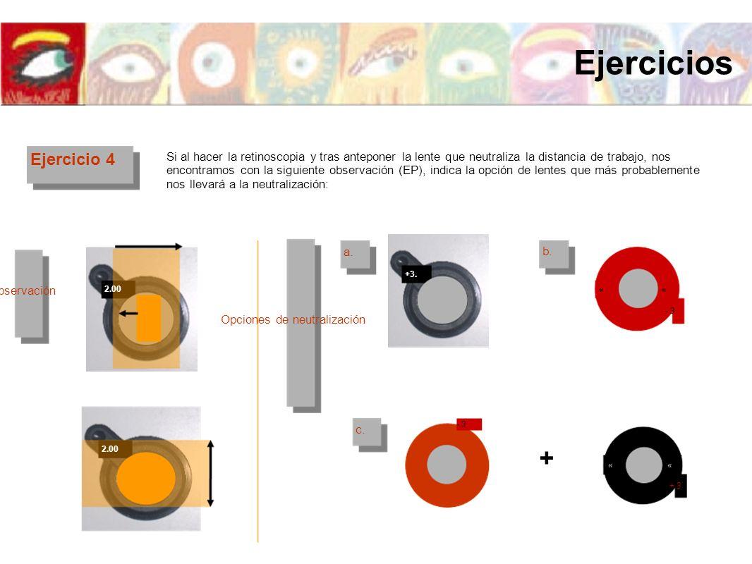 Ejercicios + Ejercicio 4