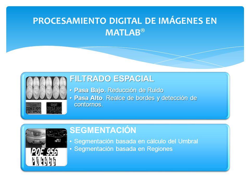PROCESAMIENTO DIGITAL DE IMÁGENES EN MATLAB®
