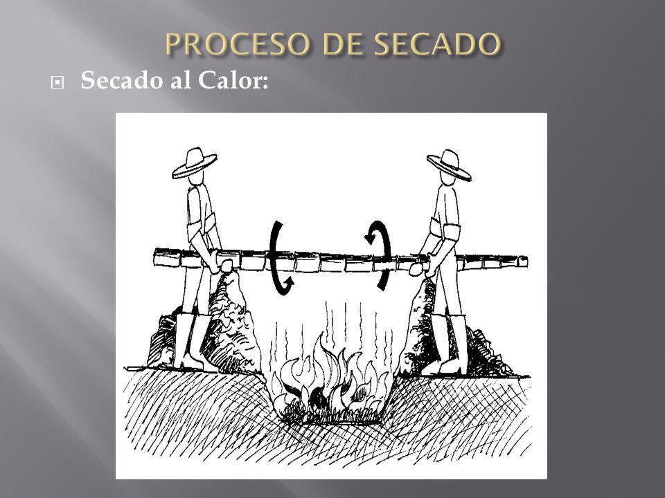 PROCESO DE SECADO Secado al Calor: