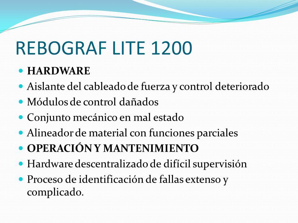 REBOGRAF LITE 1200 HARDWARE