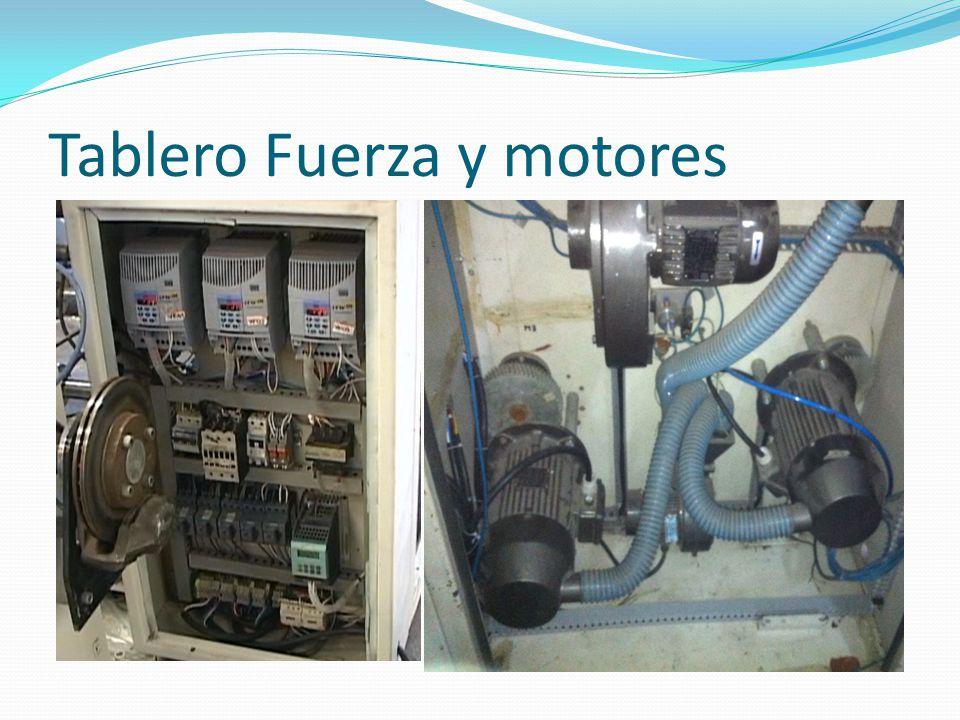Tablero Fuerza y motores