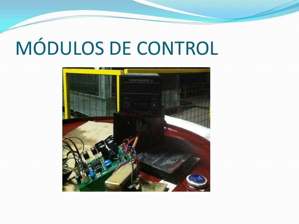 MÓDULOS DE CONTROL