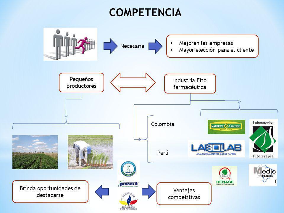 COMPETENCIA Mejoren las empresas Necesaria
