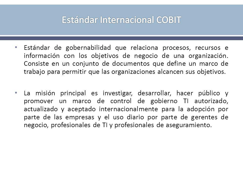 Estándar Internacional COBIT
