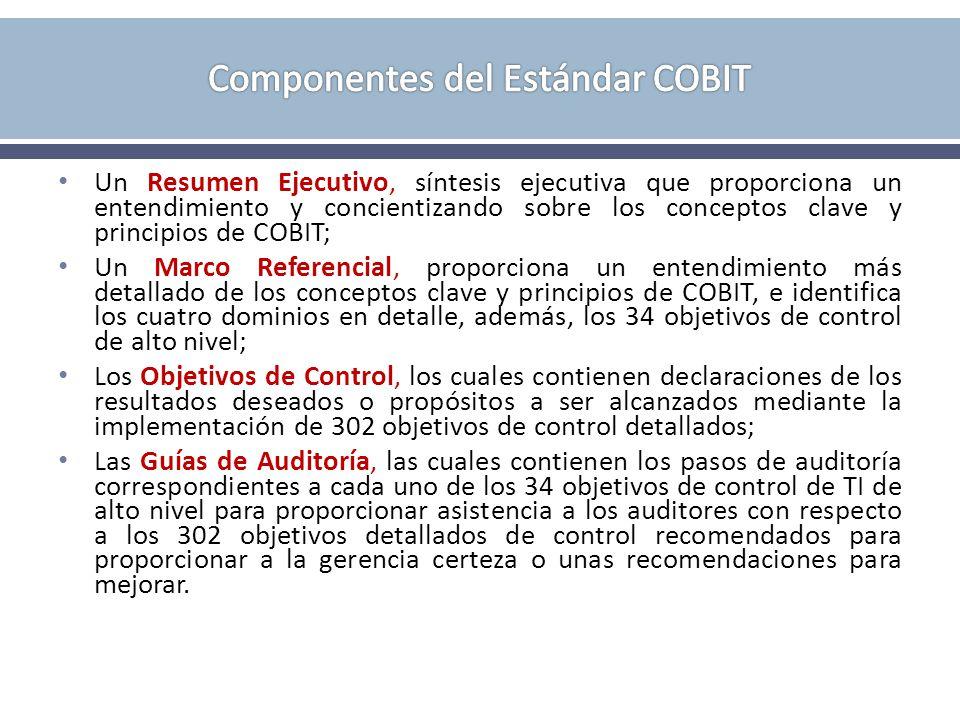 Componentes del Estándar COBIT