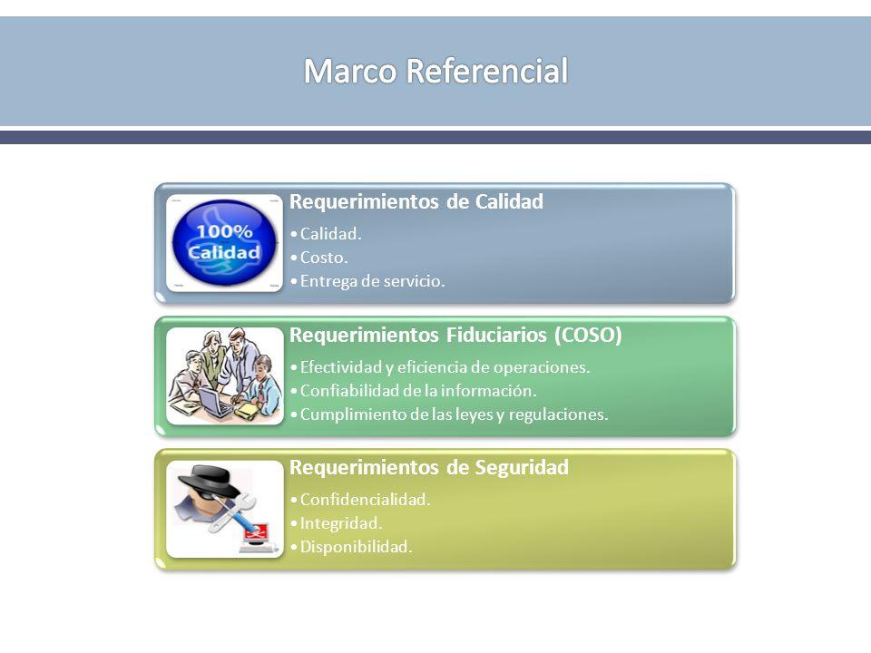 Marco Referencial Requerimientos de Calidad