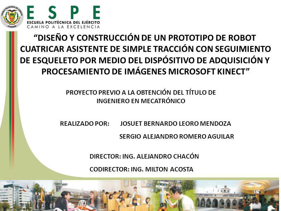 DISEÑO Y CONSTRUCCIÓN DE UN PROTOTIPO DE ROBOT