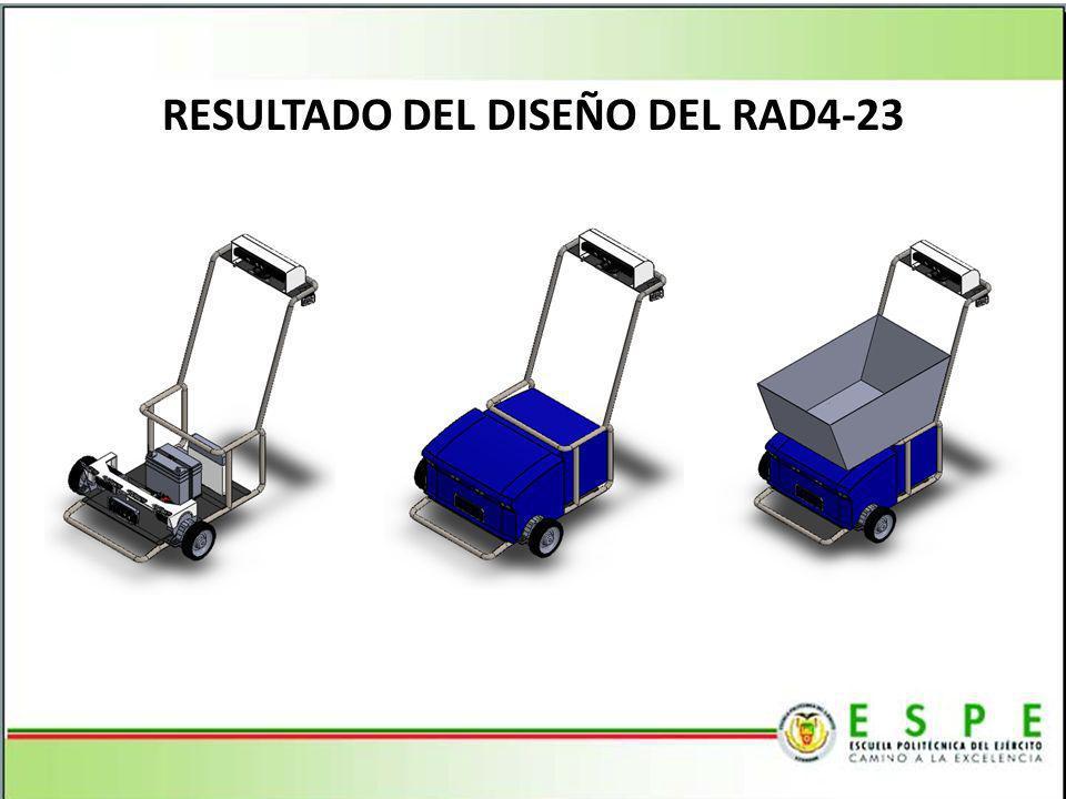 RESULTADO DEL DISEÑO DEL RAD4-23