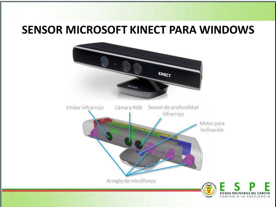 SENSOR MICROSOFT KINECT PARA WINDOWS