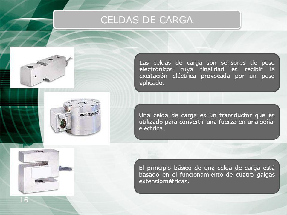 CELDAS DE CARGA