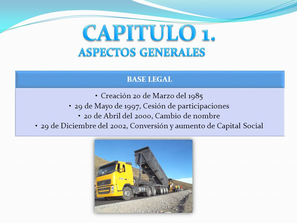 CAPITULO 1. ASPECTOS GENERALES BASE LEGAL